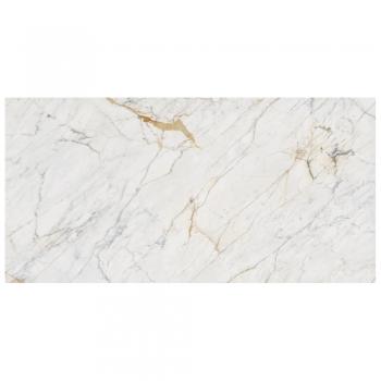 64''X128'' Grande Marble Golden White 6mm Lux