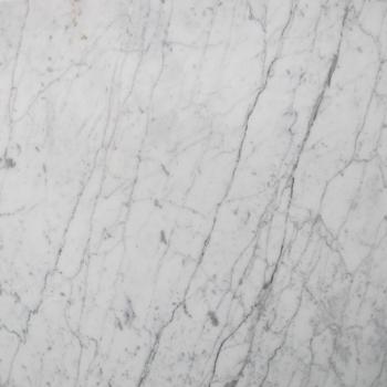 24''x24'' Bianco Carrara Alpino Honed