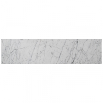 4''x16'' Bianco Carrara Poli