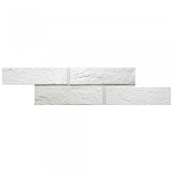 2.5''x10'' Brick New York White