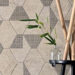 24''x24'' Concrete Ivory Nat. Rt