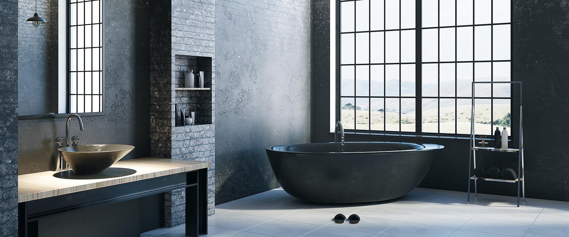 Salle De Bain Industrielle salle de bain style industriel | ciot