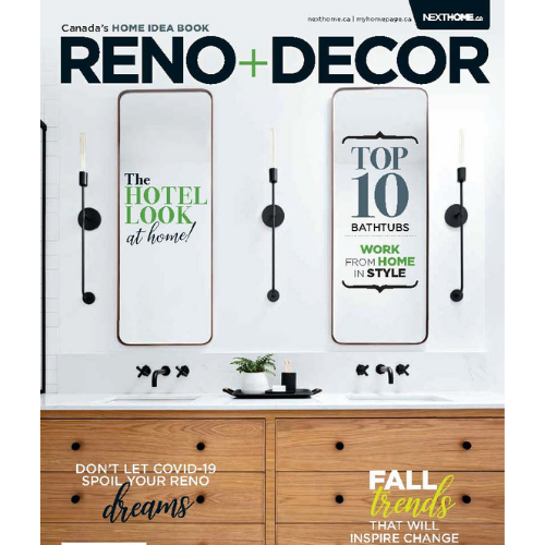RENO & DECOR - SEPTEMBER ISSUE