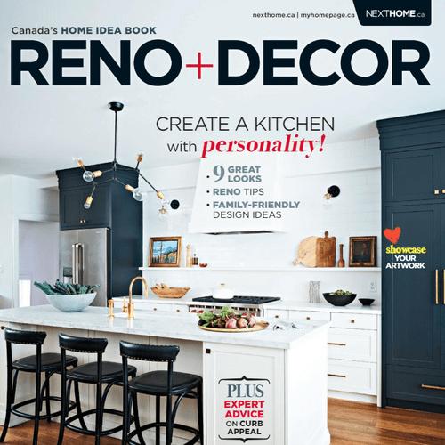 Reno and Decor April/May cover page