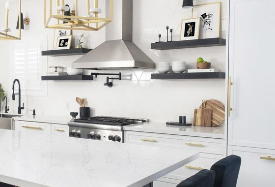 Scilla White Kitchen